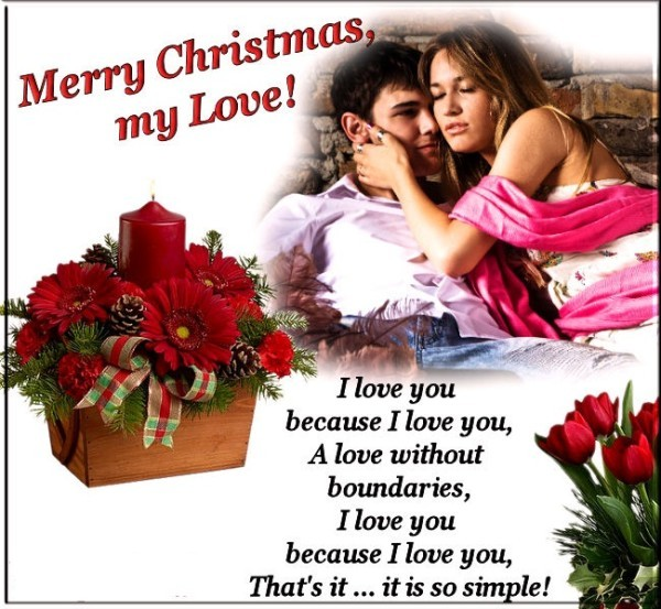 Merry Christmas Love Quote 1 Picture Quote #1