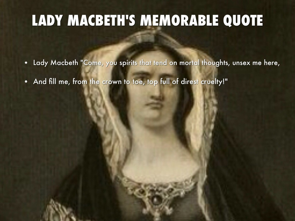 Lady Macbeth Quotes Amp Sayings Lady Macbeth Picture Quotes