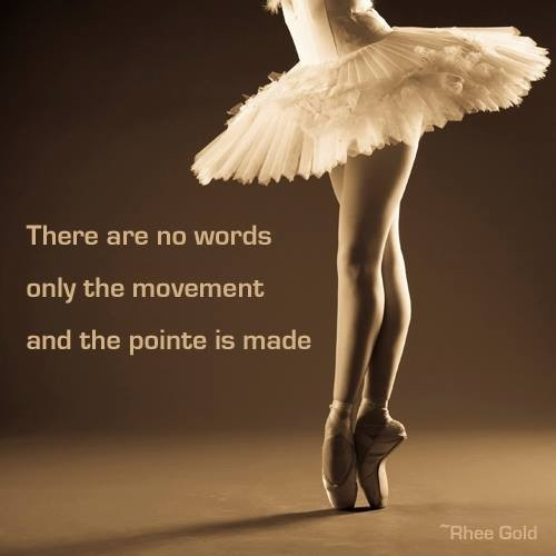 Ballet Quote 1 Picture Quote #1
