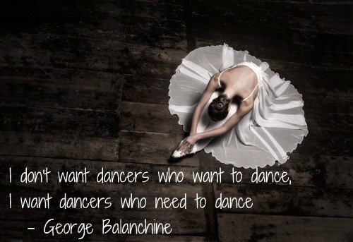 Dance Ballet Quote 1 Picture Quote #1