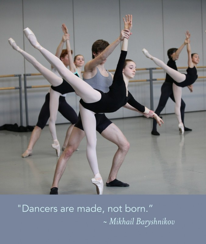 Inspirational Ballet Quote 1 Picture Quote #1