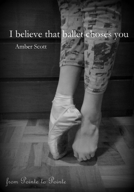 Ballet Quote 9 Picture Quote #1