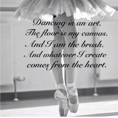 Beautiful Ballet Quote 1 Picture Quote #1