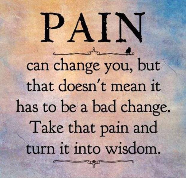 Life Is Painful Quote 2 Picture Quote #1