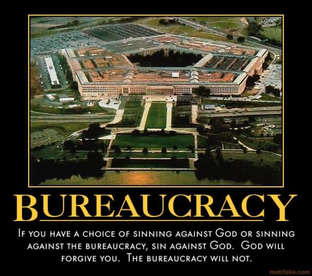 Bureaucracy And Politics Quote 1 Picture Quote #1