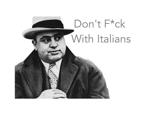 Italian Mafia Quote 1 Picture Quote #1