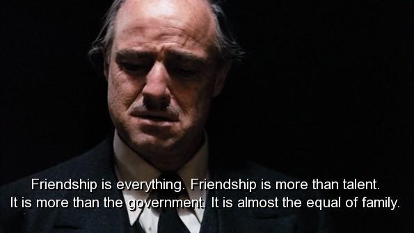 Mafia Quote About Friends 1 Picture Quote #1