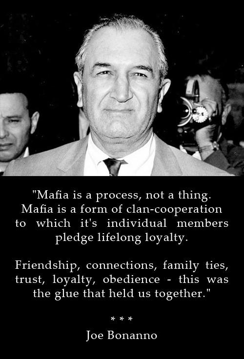 Mafia Quote About Friends 3 Picture Quote #1