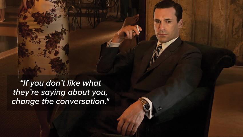 Mad Men Quote 1 Picture Quote #1
