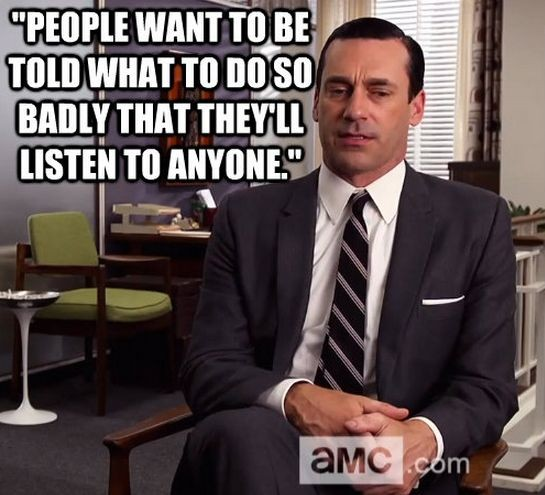 Don Draper Mad Men Quote 6 Picture Quote #1