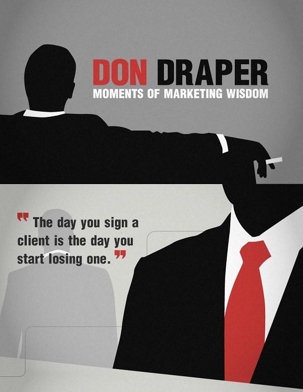 Don Draper Mad Men Quote 8 Picture Quote #1
