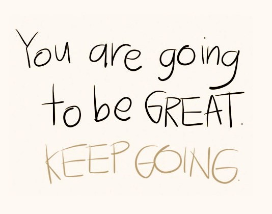 Keep Going Quote 2 Picture Quote #1
