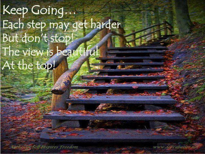 Keep Going Sayings