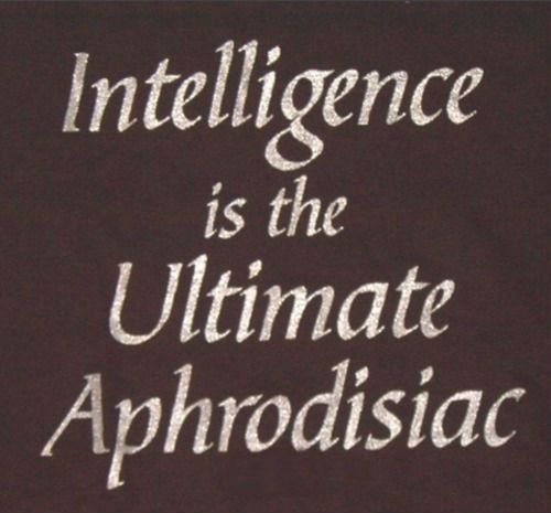 Beauty And Intelligence Quote 2 Picture Quote #1