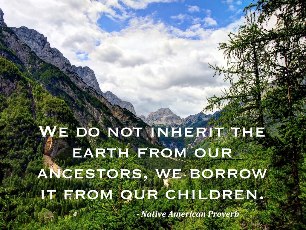 Earth Day Quote 4 Picture Quote #1