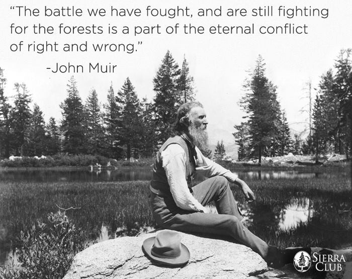 Environmental Quote John Muir 1 Picture Quote #1