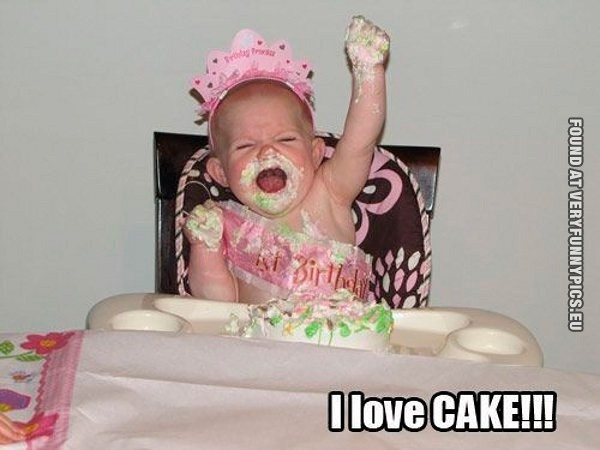 Funny Cake Quote 1 Picture Quote #1