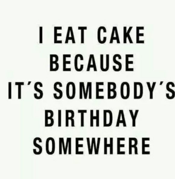 Funny Cake Quote 2 Picture Quote #1