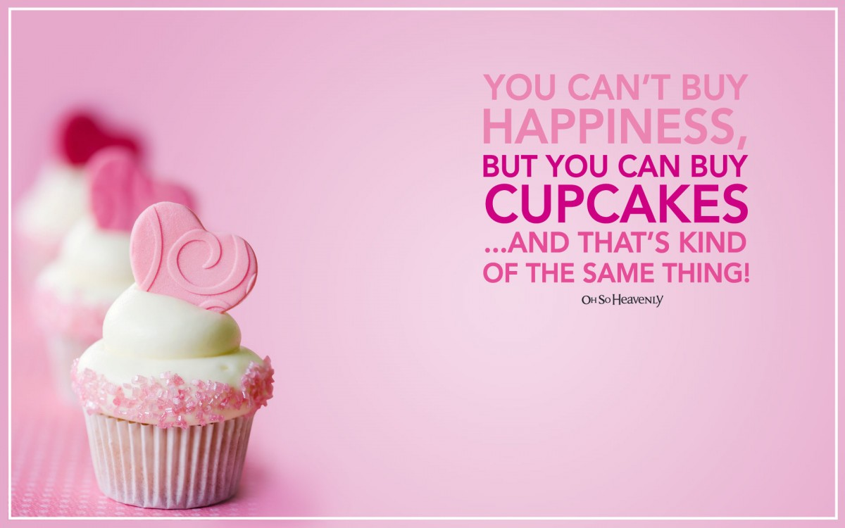 Cute Cupcake Quote 1 Picture Quote #1