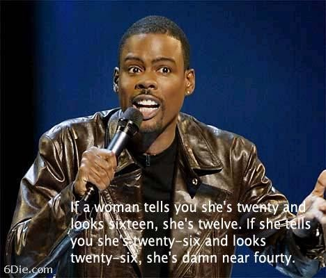 Chris Rock Quote On Women 1 Picture Quote #1