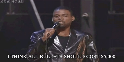 Chris Rock On Gun Control Quote 1 Picture Quote #1