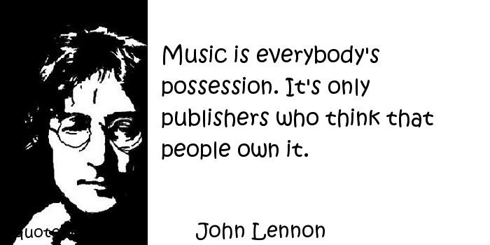 Famous Music Quote 12 Picture Quote #1