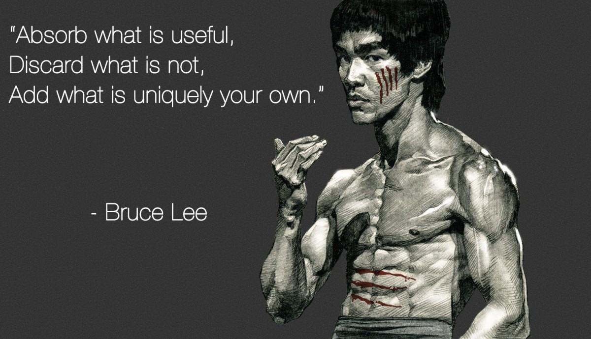 Bruce Lee Quote 1 Picture Quote #1