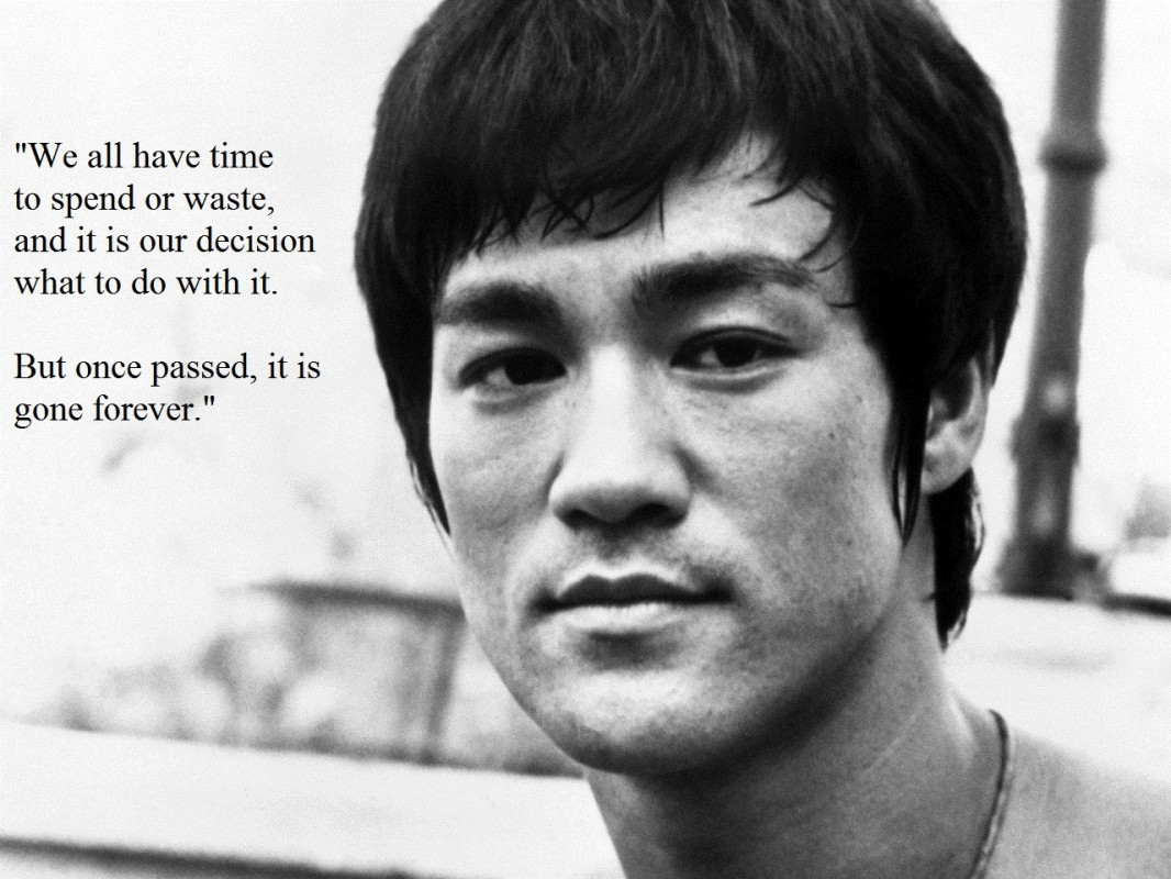 Bruce Lee Quote 4 Picture Quote #1