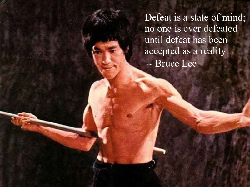 Bruce Lee Motivational Quote 1 Picture Quote #1