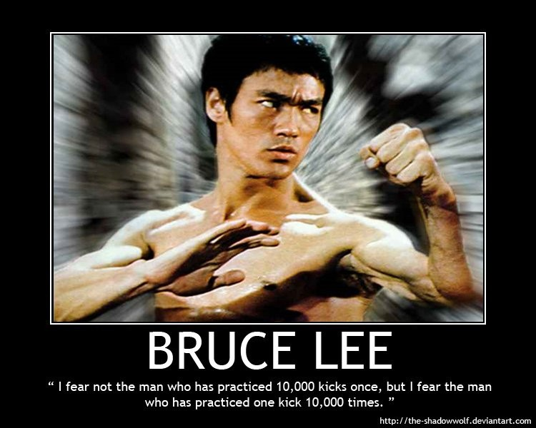 Bruce Lee Quote 8 Picture Quote #1