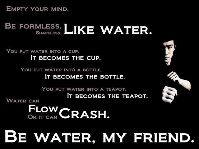 Bruce Lee Quote 10 Picture Quote #1