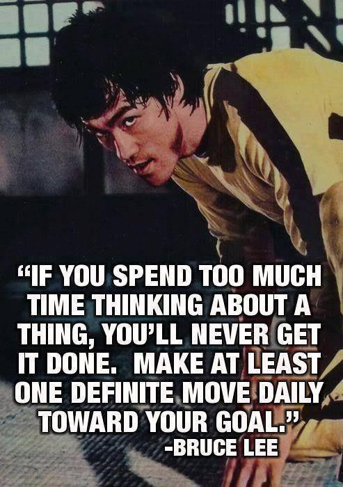 Bruce Lee Quote 14 Picture Quote #1