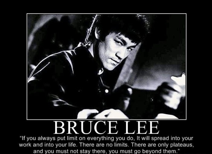 Bruce Lee Quote 15 Picture Quote #1