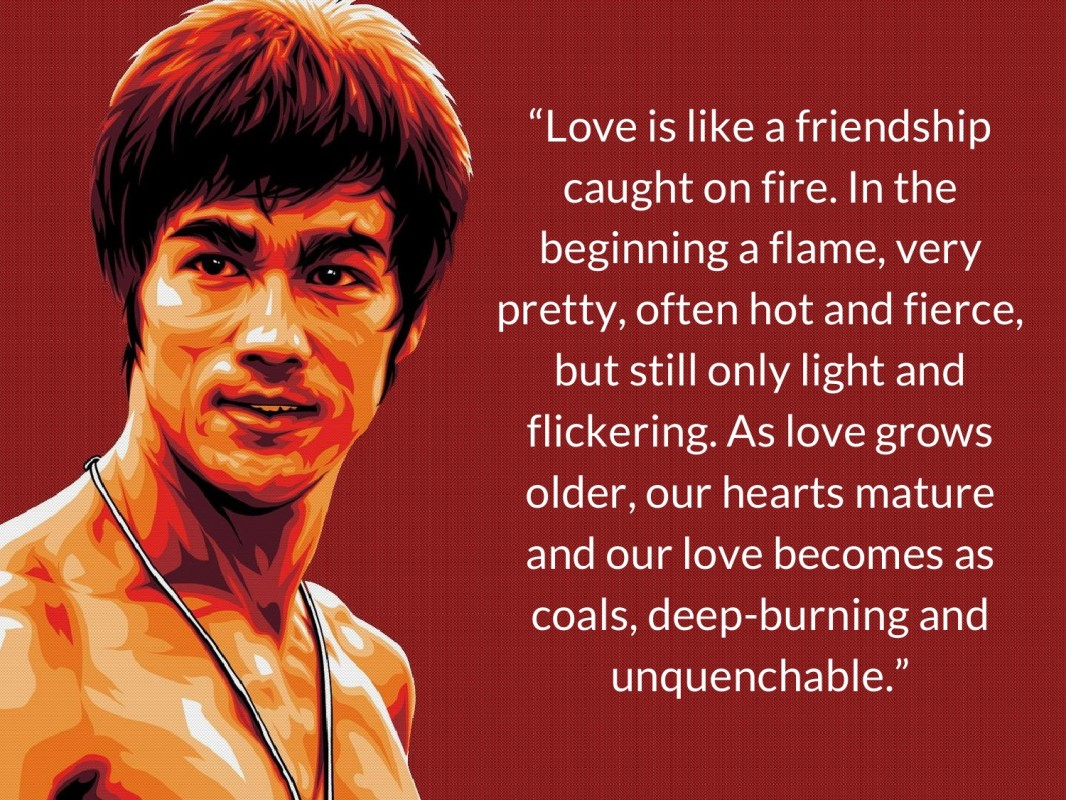 Bruce Lee Quote 16 Picture Quote #1