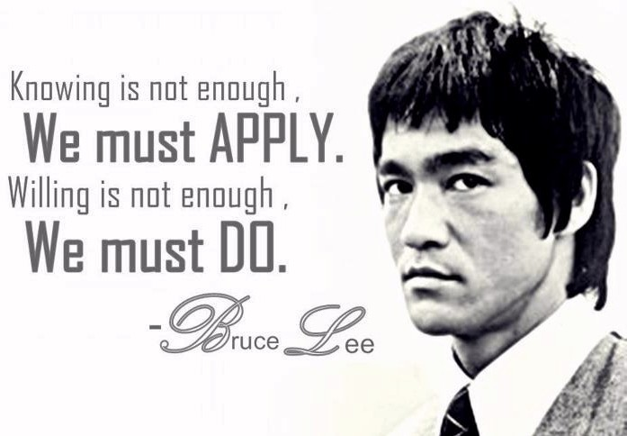 Bruce Lee Quote 18 Picture Quote #1