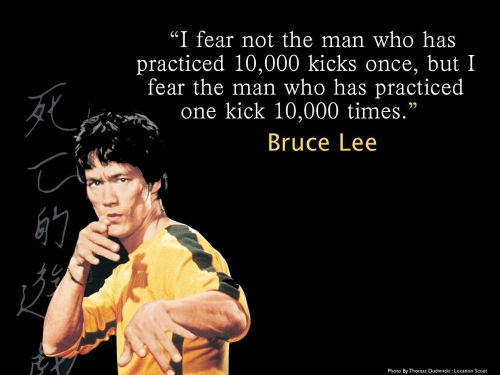 Bruce Lee Quote 20 Picture Quote #1