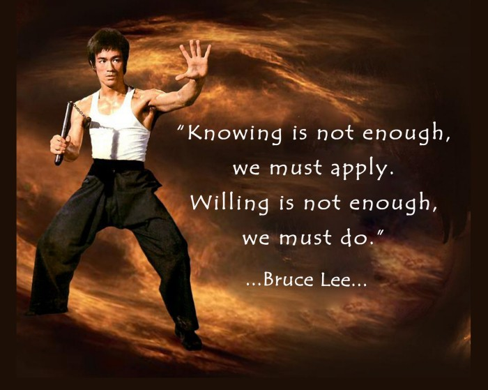 Bruce Lee Quote 21 Picture Quote #1