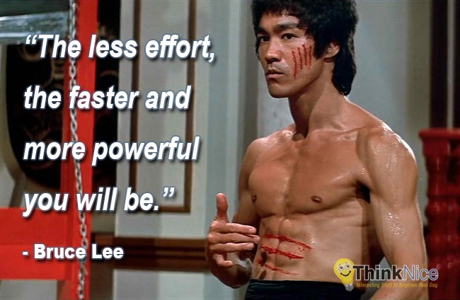 Bruce Lee Quote 23 Picture Quote #1