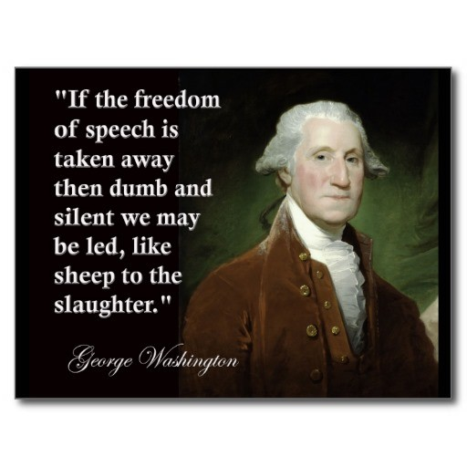 Freedom Of Speech Quote 3 Picture Quote #1