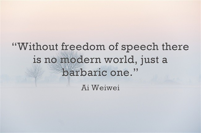 Freedom Of Speech Quote 14 Picture Quote #1
