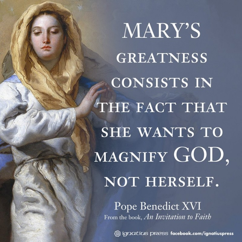 Mary Catholic Quote 1 Picture Quote #1