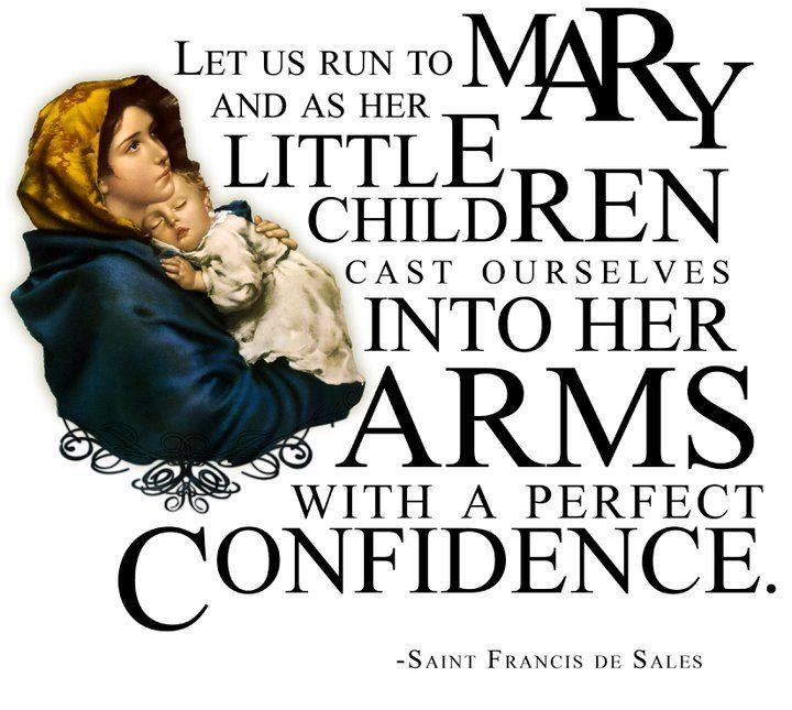 Mary Catholic Quote 2 Picture Quote #1