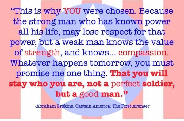 Captain America Quote 2 Picture Quote #1