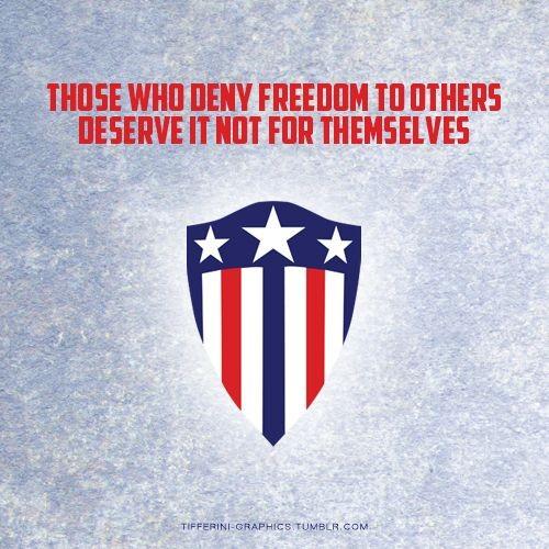 Captain America Quote 3 Picture Quote #1