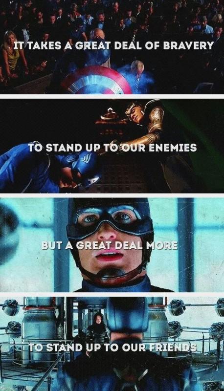 Captain America Quote 4 Picture Quote #1