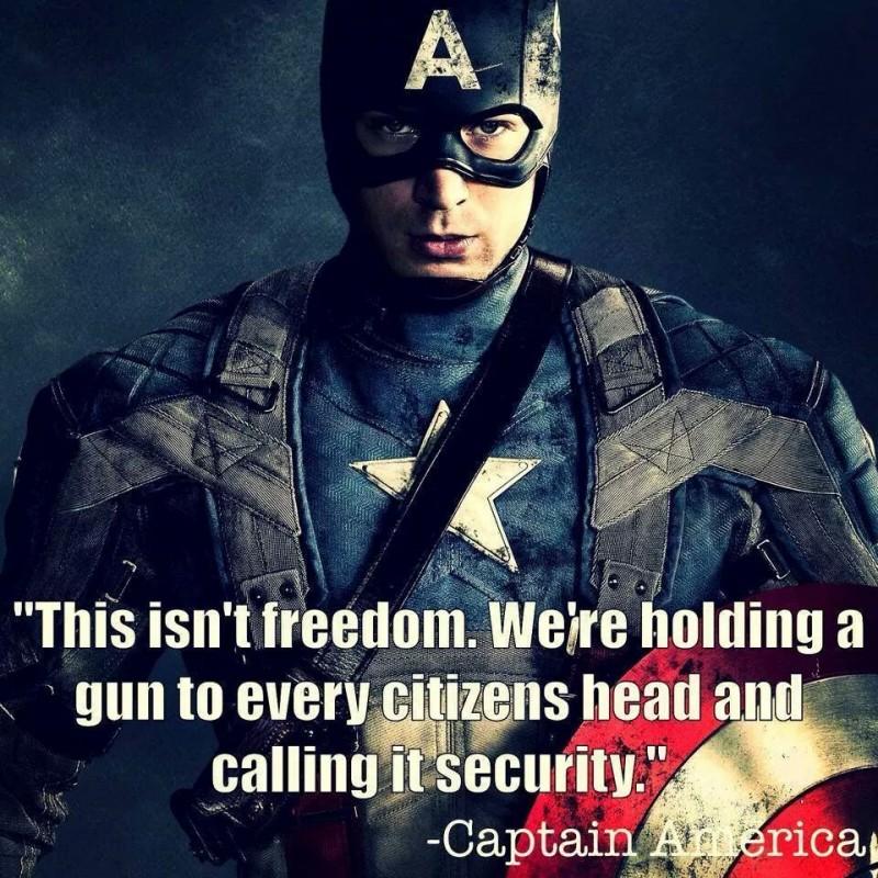 Captain America Quote 9 Picture Quote #1