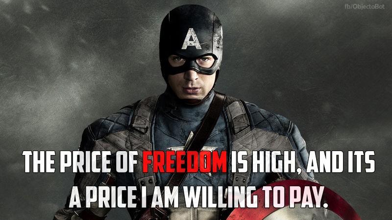 Captain America Quote 10 Picture Quote #1