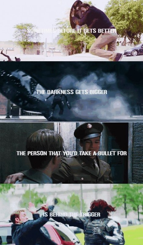 Captain America Quote 11 Picture Quote #1