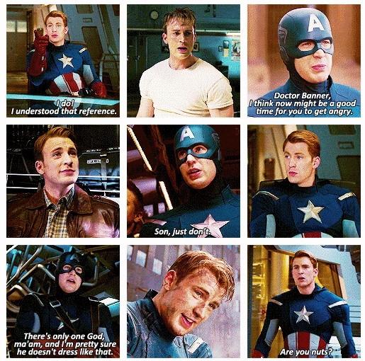 Captain America Quote 13 Picture Quote #1