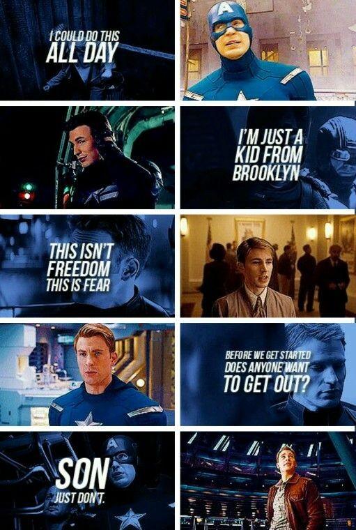Captain America Quote 14 Picture Quote #1